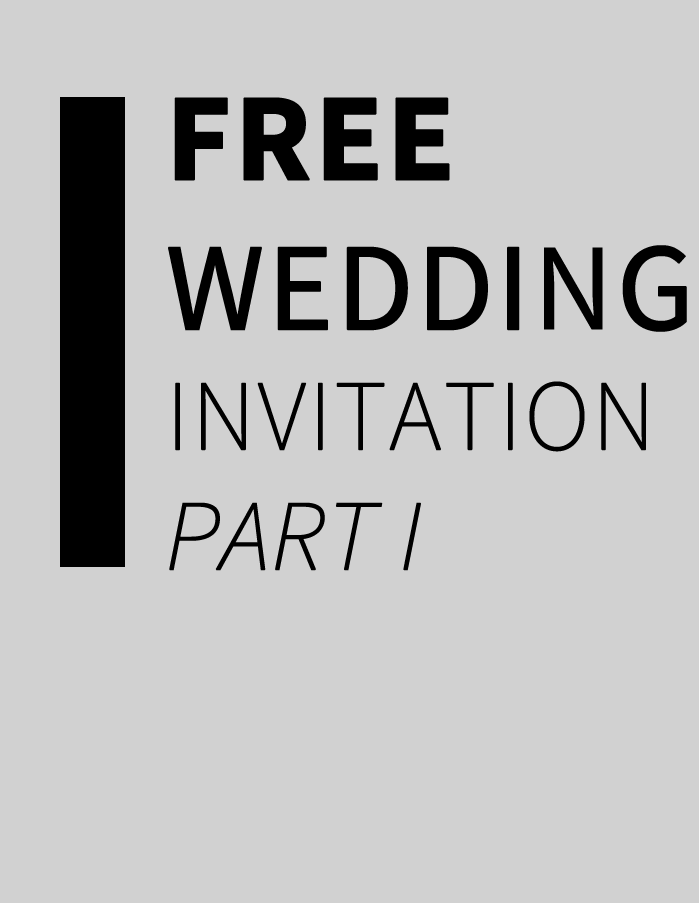 Freebie: Floral Wedding Invitation (Illustrator)