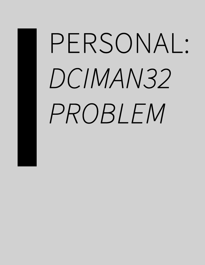 Personal: dciman32.dll problem